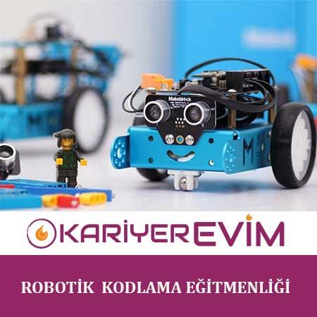Robotik ve Kodlama Eğitmenliği Sertifika Programı ile özellikle öğretmenler gelecek nesiller olan çocuklarımızı, geleceğe hazır hale getirebilecek bilgi ve donanıma sahip olacaktır.